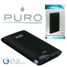 Puro POWER BANK Rapido 6000Mah CaricaBatterie Fast Portatile Per iPhone 7 7 Plus