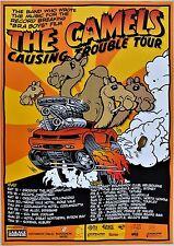 THE CAMELS RARE 2006 AUSTRALIA PROMO TOUR POSTER A2 59x42cm BRA BOYS MOVIE