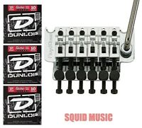 Floyd Rose Original German Chrome Tremolo System Complete w/ Nut (3 STRING SETS)