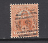 New South Wales SG 317 used. 1902 4p orange brown Captain Cook on chalky paper