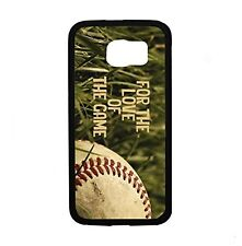 For The Love Of The Game Baseball For Samsung Galaxy S6 Edge SM-G925 Case Cover