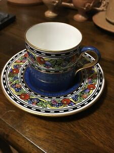 Beautiful Wedgewood Demitasse Cup+sauser Mint Condition