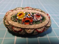 Vintage Micro Mosaic Brooch In very Good Condition For Age