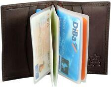 Kartenetui für EC Karten, Kreditkarten, Kundenkarten 8 x 11cm Black, 6+14 Fächer