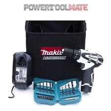 Makita HP330DWWX1 Li-Ion 10.8v Combi Drill/Driver -White- Battery, Case, Charger