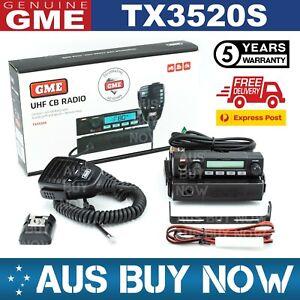 GME TX3520S UHF CB 5 WATT 80 CHANNEL TWO WAY RADIO REMOTE HEAD VEHICLE TRUCK CAR