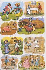 1 Bogen Glanzbilder Poesie Kinder MLP 1639 Nr.792