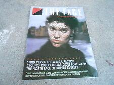 JULY 1985 THE FACE music magazine - UNPREDICTABLE - STING - RUPERT EVERETT