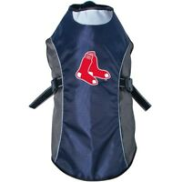 Boston Red Sox MLB Water Resistant Reflective Dog Pet Jacket Sizes XS-XL