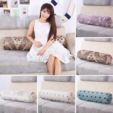 Long Bolster Cylinder Pillow Sleeping Roll Cushion Neck Head Support 5.9*15.7in