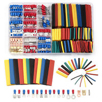 678Pcs Car Wire Electrical Kit Insulated Terminals Connectors Heat Shrink Tubes