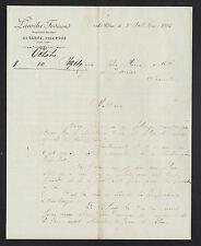 """LE CLONE prés PONS (17) BOUILLEUR de CRU """"Ferdinand LAROCHE"""" en 1914"""