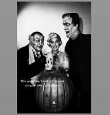 The Munsters Halloween PHOTO Publicity Pic 1964 TV Show Spooky Scary Creepy