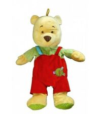 Doudou peluche Range Pyjama Winnie Salopette rouge Disney Baby Nicotoy 587/1586