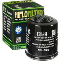 Hiflo Oil Filter Black Aprilia/Piaggio Mojito 150 Custom/Atlantic 200/Fly 150