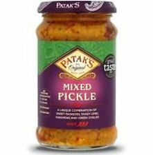Premium Quality Patak Pickle Original Mixed Medium 283gm Pack of 1/2/3/4/6