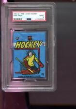 1982-83 O-Pee-Chee Hockey Card Unopened Wax Pack Locker NHL Graded MINT PSA 9