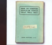 Bob Geldof / How To Compose Popular Songs That Will Sell - MINT