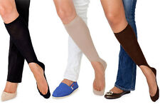 THE NO SHOW SOCKS (1) NUDE OR YELLOW ONLY