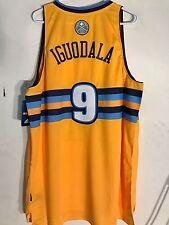 Adidas Swingman NBA Jersey Denver Nuggets Andre Iguodala Gold sz 2X