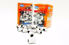 Medicool SANDING BANDS for Electric Nail Drill Fine + Medium ~ 200ct/pk White ~