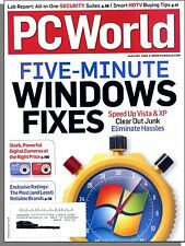 PC World - 2008, January - Five Minute Windows Fixes (XP, Vista)
