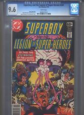 Superboy #241 Cgc 9.6 (1978) & Legion of Super-Heroes White Pages