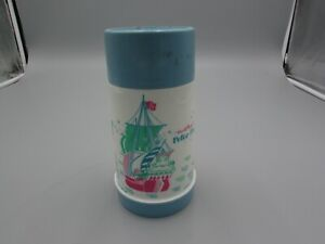 VINTAGE Complete 1969 Peter Pan Thermos for Vinyl Aladdin Lunchbox L@@K!