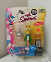 2001 Playmates The Simpsons Professor Frink Intellitronic Figure New In Package