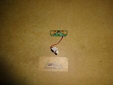 Toshiba Satellite Pro C650, C650D Laptop Power Button Board. P/N: V000210850