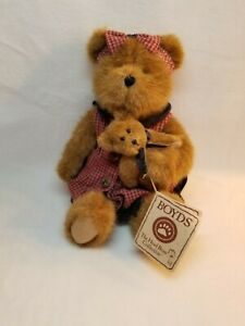 2005 BOYDS BEARS BEST DRESSED 🐻THELMA & BABY LOU🐻 #918097SM