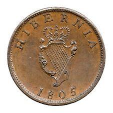 More details for km# 147.1 - halfpenny - george iii - hibernia - ireland 1805 (au)