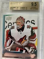 2017-18 ADIN HILL UD YOUNG GUNS ROOKIE #454 BGS GRADED 9.5 ARIZONA COYOTES RARE!