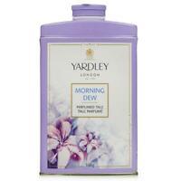 Yardley London Perfumed Talc Morning Dew Talcum Powder Select Size - F/SHIP