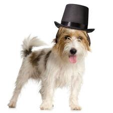 """Hunde Hut """"Zylinder"""" mit Gummi Hundehalsband Halsschleife zur Hochzeit Hundkleid"""