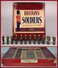 "Britains Post-War ""Set #2117 - U.S.Army Marching Band - Snowdrops"" *CX-1070*"