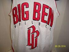 Ben Wallace BB Big Ben #3 Basketball Jersey Detroit Pistons SZ SMALL  EUC