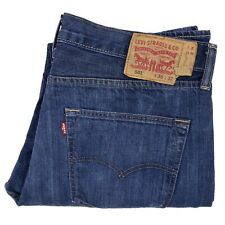 Levis 501 Jeans 36x32 Blue Button Fly Classic Straight Regular Fit Jean Mens Sz