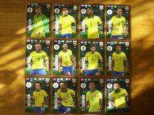 FIFA 365 2020 FULL SET 12 CARDS GOLD COPA AMERICA BRASIL 2019 WINNER