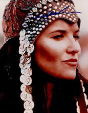 Xena Creation Entertainment photo photograph autographed Lucy Lawless Shaman coa