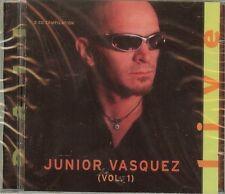 Junior Vasquez - Live Volume 1 -  (2 CDs)  - NEW - SEALED