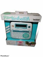 Brother P-Touch Embellish RIBBON &TAPE PRINTER PTD 215 E  EASILY PERSONALIZE NEW
