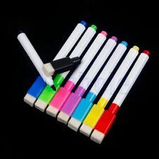 8x Whiteboard Flipchart Marker Boardmarker Wandtafel Stifte abwischbar farbemix