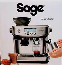Sage The Barista Pro Espresso Maschine Siebträger ~ Silber ~ Kaffeeautomat ~ TOP