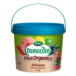 Scotts Osmocote Plus Organics 3.5kg All Purpose Plant Food & Soil Improver