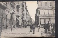 Egypt Postcard - Alexandrie - Cherif Pacha Street      RS4704