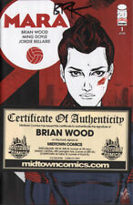 Mara #1 SIGNED by BRIAN WOOD w/ COA from Midtown new unread NM 1st print Image