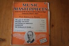 Musical Masterpieces 8: Percy Pitt 5 Complete Pieces: World's Operas/Plays