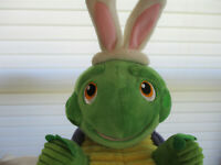 "Hallmark ""Whirlin' Twirlin' Turtle"" Easter Bunny Plush Sound & Motion *SEE VIDEO"