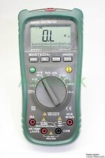 Auto range MS8260G LCR Multimeter DMM tester AC DC/Ω/nF​/Hz/℃ backlight analog b